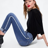 SIDE STRIPE JEANS Z1975DETAILS