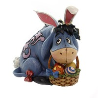Jim Shore EEYORE COTTONTAIL Polyresin As Easter Bunny 6001284