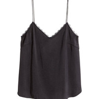 H&M Satin Camisole Top $12.99