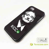 BILL MURRAY KCCO Keep Calm and Chive On iPhone 4/4S 5/5S 5C 6 6 Plus Case Cover