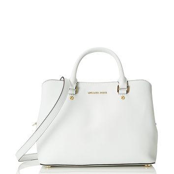 MICHAEL Michael Kors Women's Savannah Medium Satchel