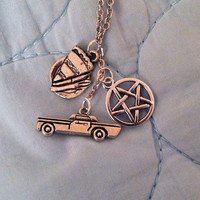 All Of My Favorites / Dean Winchester - Supernatural Necklace