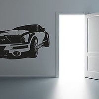 American Muscle Car Drag Drift Racing Wall Art Sticker Decal R024