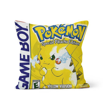Pokemon Yellow Pikachu Pillow