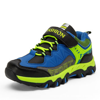 Comfort On Sale Hot Deal Hot Sale Children Outdoors Hiking Shoes Casual Anti-skid Stylish Shoes Sneakers [4919287556]