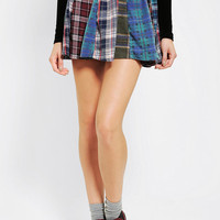 Urban Renewal Pull-On Flannel Skirt - Urban Outfitters