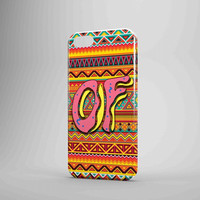 Ofwgkta Of Odd Future Doughnut Donuts On Aztec iPhone Case Samsung Galaxy Case US 3D