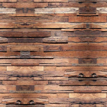 6752 Printed Wood Cabin Floor Wall Panels Photography Background