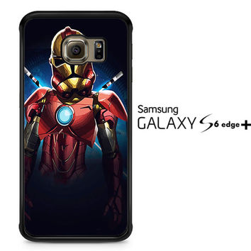 Iron Man Clone V1161 Samsung Galaxy S6 Edge Plus Case