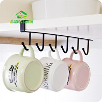 Iron Kitchen Storage Rack Cupboard Hanging Hook Shelf Dish Hanger Chest Storage Shelf Bathroom Organizer Holder