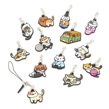Neko Atsume Rubber Straps Vol. 2