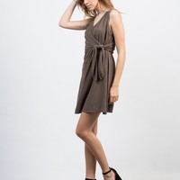 Wrap It Up Crosshatch Dress