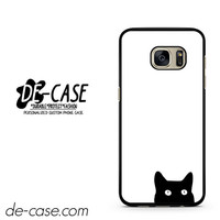 Watching Black Cat DEAL-11830 Samsung Phonecase Cover For Samsung Galaxy S7 / S7 Edge