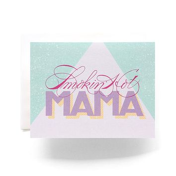 Antiquaria - Smokin' Hot Mama Greeting Card