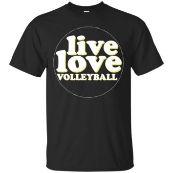 My Heart On That Court Funny Mom Volleyball TShirt Hoodie Parents