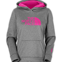 The North Face Women's Shirts & Tops Hoodies WOMEN'S PINK RIBBON FAVE-OUR-ITE PULLOVER HOODIE
