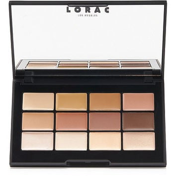 Lorac PRO Conceal/Contour Palette and Brush | Ulta Beauty