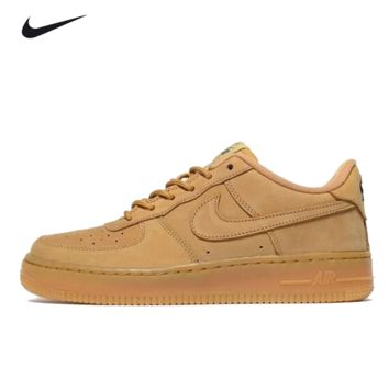 """Nike ""Low to top shoes air force wheat color sandals leisure sports shoes"