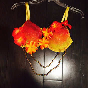 Tropical Sunrise Bra