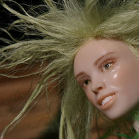 Faizah, OOAK Sculpture, Fantasy Art doll, Fairy