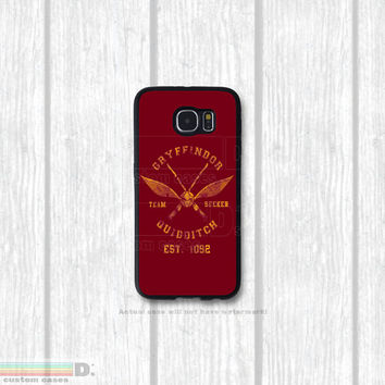 Harry Potter Inspired, Quidditch House Teams, Custom Phone Case for Galaxy S4, S5, S6