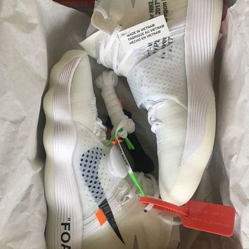 DCCKIN2 NIKE X OFF WHITE c/o Virgil Abloh ''REACT HYPERDUNK 2017�I 'THE TEN' I (9 US)