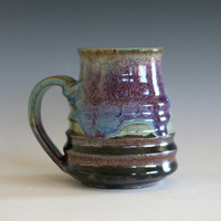 Coffee Mug Pottery, unique coffee mug, handmade ceramic cup, handthrown mug, stoneware mug, pottery mug, ceramics and pottery
