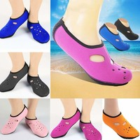 Water Shoes Aqua Socks Yoga Sports Pool Beach Surf Swim Slip On Women Skin Shoes