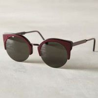 Super Lucia Francis Sunglasses Plum One Size Eyewear