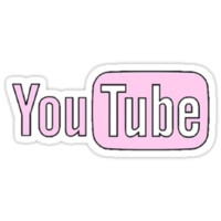 Pink Youtube by erinaugusta