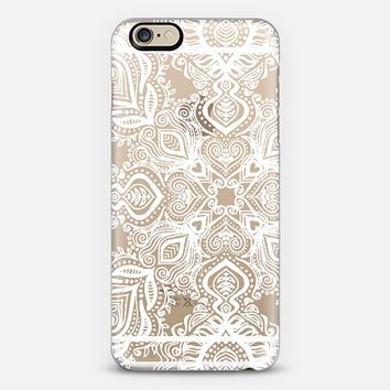 Bold Love White Lace iPhone 6 case by Micklyn Le Feuvre | Casetify