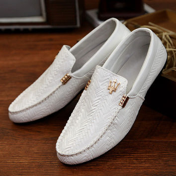 Mens Leisure Slip-On Loafers