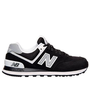 new balance 574 core black athletic sneaker