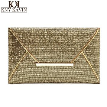 Women Clutch Party Bag Evening Casual Clutch Bags Minaudiere Rivet Purse for Women Coin Card envelope Hand package bag