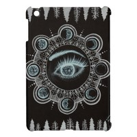 Phases of the Moon Eye iPad Mini Cases