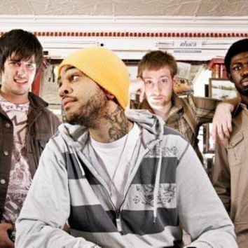 Gym Class Heroes Poster Standup 4inx6in