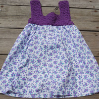 Crochet Baby Dress, Summer Dress, Baby Crochet Dress, Baby Dress, Crochet Dress, Ready to Ship