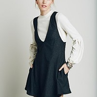 Free People Womens Gemma's Apron Dress