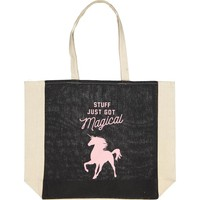 typo difference tote bag