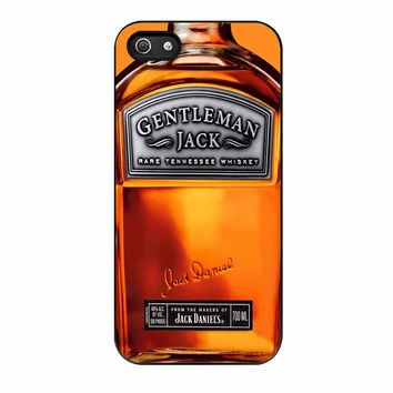 Gentlemen Jack Daniels Rare Tennessee Whiskey iPhone 5 Case