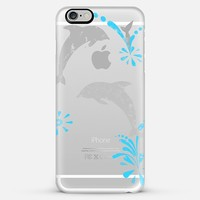 Happy Dolphins iPhone 6 Plus case by Denis Marsili | Casetify