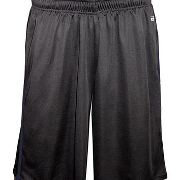 Badger 4121 Double-Time Pocketed Short - Carbon Navy