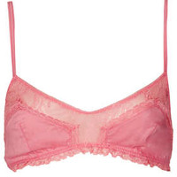 Cotton and Lace Soft Bra - New In This Week  - New In