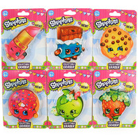 Shopkins Collectable Erasers [Set of 6]