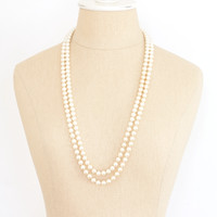 60's__Vintage__Multi Pearl Necklace