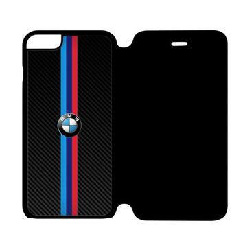 BMW M Power German Automobile and Motorcycle iPhone 6S Plus Flip Case Cover