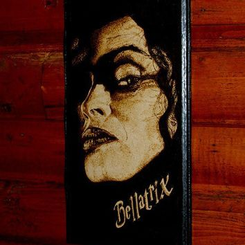 Harry Potter art - Bellatrix Lestrange wall decoration