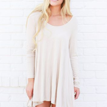 Ryann Dress Taupe