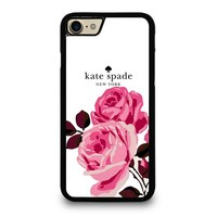 KATE SPADE ROSE iPhone 4/4S 5/5S/SE 5C 6/6S 7 8 Plus X Case