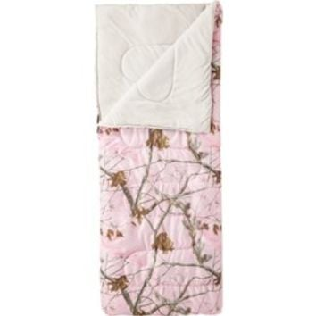 Academy - Game Winner® Girls' Realtree AP™ 50°F Rectangle Sleeping Bag